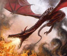 Dragon by christopherburdett on dA