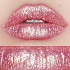 Recreate this gorgeous rose gold lip look by topping SASHA with LIT  Via: @quinni_mini_