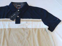 Men's Tommy Hilfiger Polo shirt XXL xxlrg slim fit 7845148 Iris pt 992 navy knit