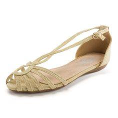 Sandalia Niñas XTI efecto Glitter - Sigue las últimas tendencias para esta primavera-verano con estas sandalias romanas con efecto Glitter en colores oro y plata. #sandálias #sandals #sandales