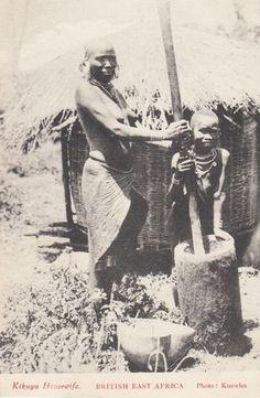 Kikuyu Housewife East Africa 1910s