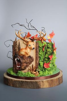 Hunting cake by tomima