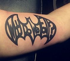 """Why Do We Fall?""  Batman Tattoo"