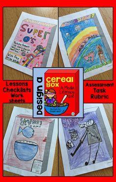 cereal box design | STEAM | Pinterest
