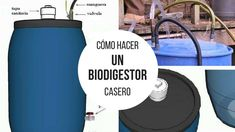 Cómo hacer un biodigestor casero Diy Projects Plans, House Gate Design, Earthship, Renewable Energy, Save Energy, Geology, Layout Design, Delaware, How To Plan