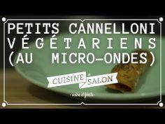 100% sans (viande) - Cannelloni végétariens | Cuisine de Salon