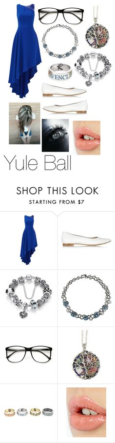"""""""My Harry Potter OC - Yule Ball"""" by mimi-minecrafter on Polyvore featuring Halston Heritage, Pedro García, ZeroUV and Charlotte Tilbury"""