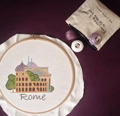 Rome cross stitch