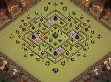 base TH 9 Clash of Clans Base Layout
