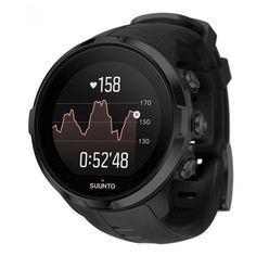 All Spartan Sports watches are handmade in Finland. (The Chinese language is only available in the Chinese version of the watches. Suunto Spartan Sport Wrist Hr All Black. Sport Watches, Cool Watches, Watches For Men, Men's Watches, Stylish Watches, Fashion Watches, Smartwatch, Triathlon Watch, Triathlon Training