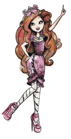 Ever After High   Briar Beauty. New Profile art