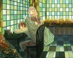 Anime Original  Girl Boy Wallpaper