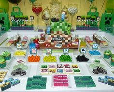 Minecraft Birthday Party Ideas | Photo 1 of 8