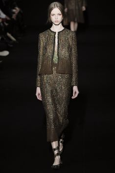 Alberta Ferretti Fall 2014 Ready-to-Wear Fashion Show - Dani Witt