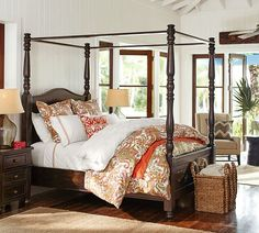 Paisley is so on trend for fall. An easy way to implement it naturally into your room is with some lovely bedding.