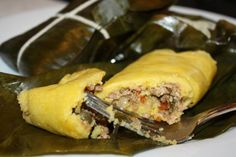 Trinidad Pastelles (Steamed Cornmeal Pastry with Meat Filling) | All About Cuisines