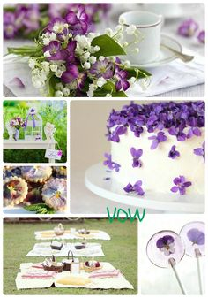 VOW - African Violet, Purple Weddings