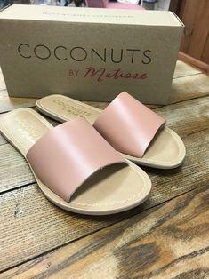 6f1e2b69d5dc56 Matisse - Cabana Slide - Nude Leather- Size 10 - NEW with Box  fashion.  JumpsuitsCabanaLinkCouponBoxClothingAmazonPlacesLeather