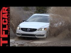 2015 Volvo V60 Cross Country Muddy Off-Road Review in TFL4K