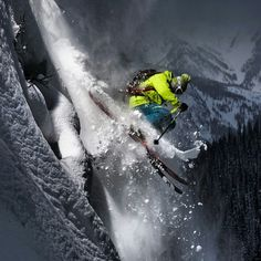 Steep and deep powder