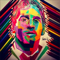 """WPAP Art of Lionel Messi"""