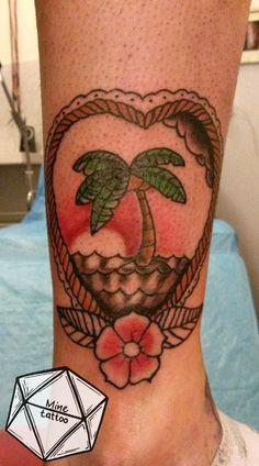 #island #tattoo #traditionaltattoo