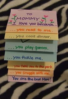 Two quick and easy Mother's Day cards…perfect for kids and toddlers!  Love!