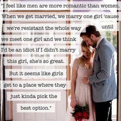 Quote from Blue Valentine.  (Dean, Ryan Gosling)