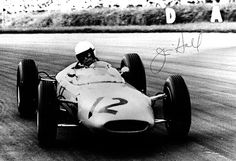 JIM HALL IN THE BRP LOTUS 24 - 1963