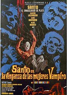 "Santo en la venganza de las mujeres vampiro (Santo in ""The Revenge of the Vampire Women"", 1970)"