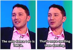 And made this accurate comment on everyone's favourite dance. | 19 Times Jon Richardson Was The Most Hilarious Man In British