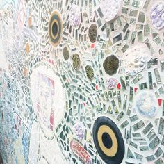 Check out the Murals & Mosaics Tour on April 25, 2015. Two types of Philadelphia treasures in one walking tour!