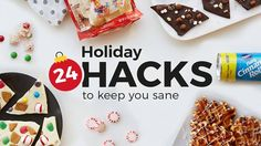 Sign up to get hacks and tricks to keep your sanity throughout the busy holiday season. Emailed Daily. Nov. 27-Dec. 20