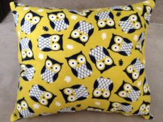 Owl+Toddler+Pillow+by+knotsnties+on+Etsy,+$12.00
