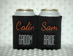 Foldable Can KOOZIE ® - White