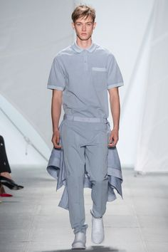 New York Fashion Week - Spring/Summer 2015 Lacoste #lacoste #polo #felipeoiverabaptista #newyorkfashionweek #défilé #tendance2015
