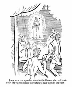 Bible Printables - Bible Coloring Pages - Jesus Teaches 11