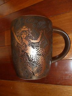 2011 Starbucks Brown and Copper Anniversary Mermaid Cup Never Used | eBay