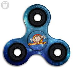 Curious George (2) Fidget Spinner Toy Hand Spinner Stress Reducer - Fidget spinner (*Amazon Partner-Link)