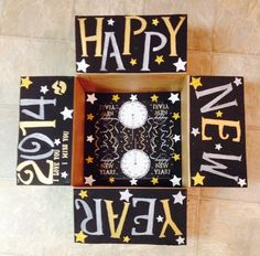 New Years care package for military deployment Missionary Care Packages, Deployment Care Packages, Deployment Gifts, Military Deployment, Care Box, Paper Crafts, Diy Crafts, Diy Gifts For Boyfriend, Love Gifts