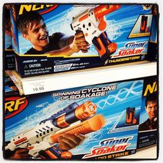 The Super Soaker was invented by NASA engineer Lonnie Johnson. It was originally called the Power Drencher. #toystore