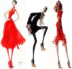 Arturo Elena Fashion Illustration