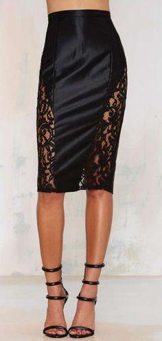 Misha Collection Vivien Lace Skirt