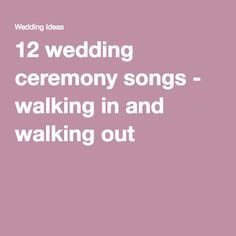 1000 Ideas About Wedding Recessional Songs On Pinterest