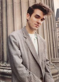 He has a great sense of style. | Why Morrissey Is The Best Member Of The Smiths