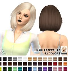 -- select a Website --: Nightcrawler Moonlight hairstyle retextured  - Sims 4 Hairs - http://sims4hairs.com/select-a-website-nightcrawler-moonlight-hairstyle-retextured/