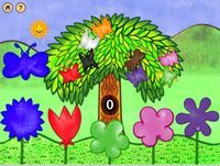 Flutterby Butterflies is a great app for learning early skills with letters and colors! ~Heather H.