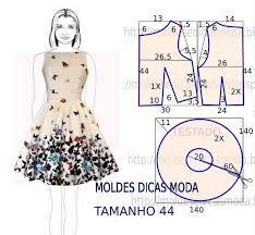 moldes de vestidos largos casuales - Buscar con Google