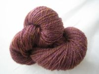 100% American Romney -- Purple This beautiful example of the Romney fleece comes from the closed bred flock of Broadbrook Mountain Farm in Royalton, VT. $10.74 / 150 yard, 50 gram skein http://store.stillrivermill.com/store.php/products/american_romney_--_purple