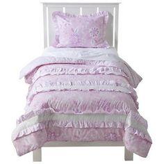 """Mudhut Chatelet Full Comforter 86""""x86"""" Set Pink 2 Pillow Shams Girly Girl   eBay"""